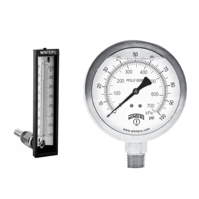 Pressure Temp Gauges